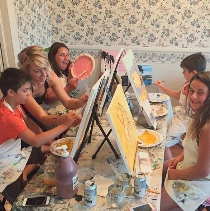 Weekday Art Classes for Adults and Kids